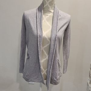 Aritizia Wilfred 100% wool grey cardigan